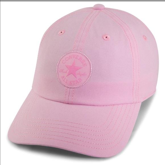 492a0e54e34 Converse ⭐ Monotone Core Baseball Cap Pink NWT
